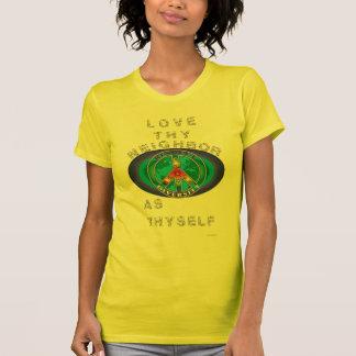 diversidad del respecto camiseta