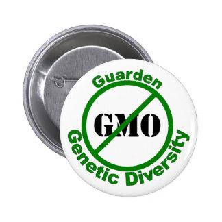 Diversidad genética de Guarden Pin Redondo De 2 Pulgadas