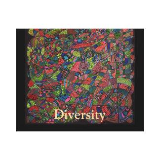 Diversidad Impresiones De Lienzo