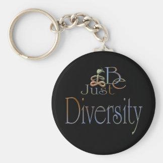 Diversidad Llavero Personalizado