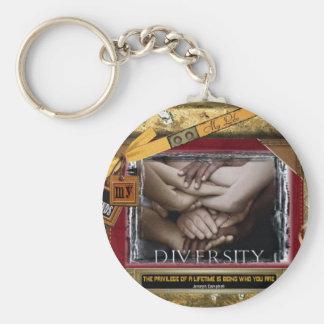 Diversidad Llavero