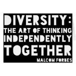 Diversidad Notecards Felicitacion