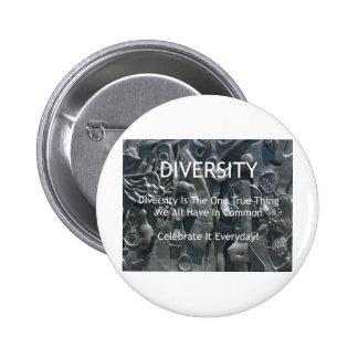 Diversidad Pin Redondo 5 Cm