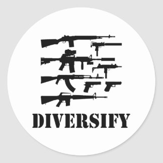 Diversify Stickers
