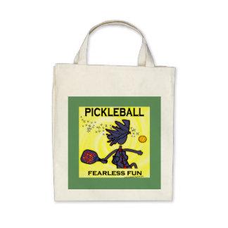 Diversión audaz de Pickleball Bolsas De Mano
