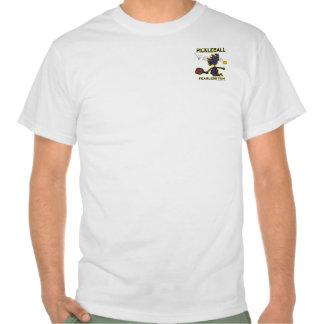 Diversión audaz de Pickleball Camiseta