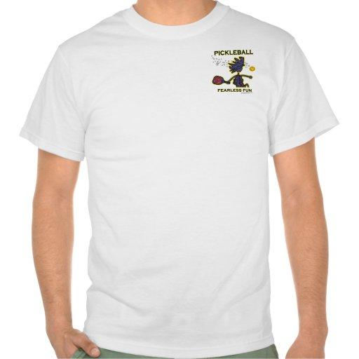 Diversión audaz de Pickleball Camisetas
