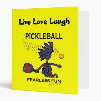 """Diversión audaz de Pickleball Carpeta 1"""""""