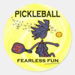 Diversión audaz de Pickleball Etiqueta
