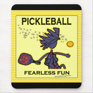 Diversión audaz de Pickleball Tapetes De Ratón