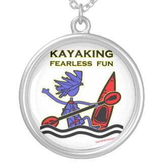 Diversión audaz Kayaking Colgante Redondo