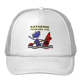 Diversión audaz Kayaking Gorras