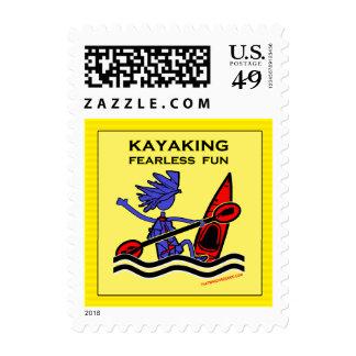 Diversión audaz Kayaking Envio