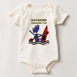 Diversión audaz Kayaking Trajes De Bebé