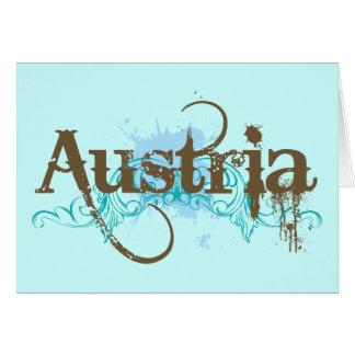 Diversión Austria Tarjeta De Felicitación