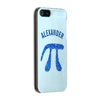 Diversión azul del empollón de la ciencia del funda para iPhone 5 incipio feather shine