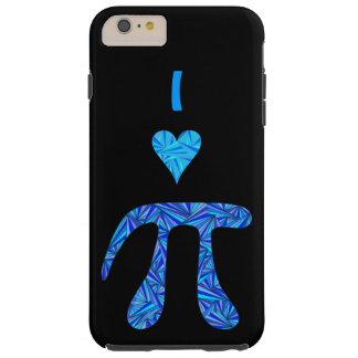 Diversión azul del empollón de la ciencia del funda para iPhone 6 plus tough
