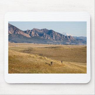 Diversión Biking de la montaña de Colorado Tapetes De Ratón