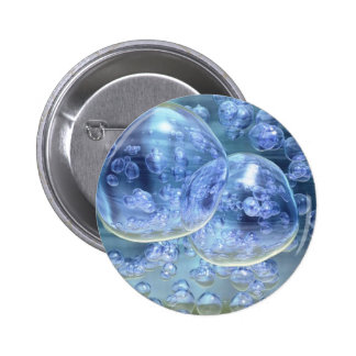 Diversión burbujeante de las burbujas mega pin redondo 5 cm