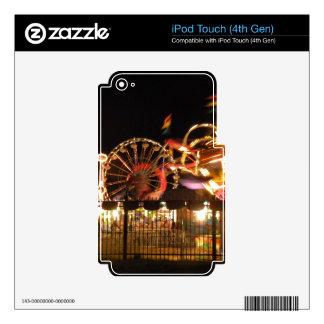 Diversión cercada iPod touch 4G calcomanías