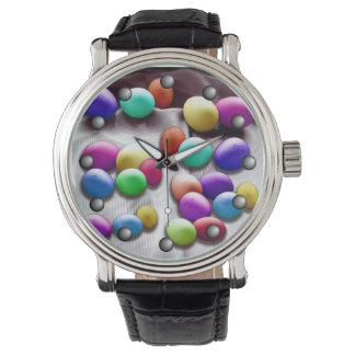 Diversión coloreada del huevo de Pascua Reloj De Mano