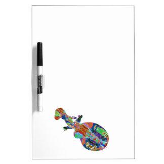 Diversión colorida abstracta del arte de Insrument Pizarras