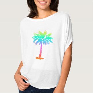 diversión colorida brillante del verano tropical playera