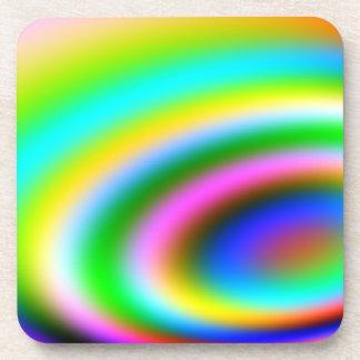Diversión colorida posavaso