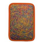 diversión con el naranja fundas para iPad mini