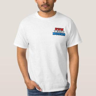 Diversión con la prima - logotipo - bolsillo camisas