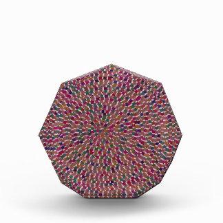 Diversión creada artista elegante de la textura