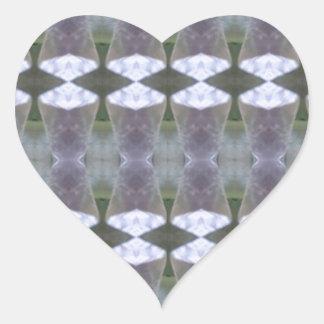 DIVERSIÓN curativa RT NVN467 del éxito de la joya  Calcomanía De Corazón Personalizadas