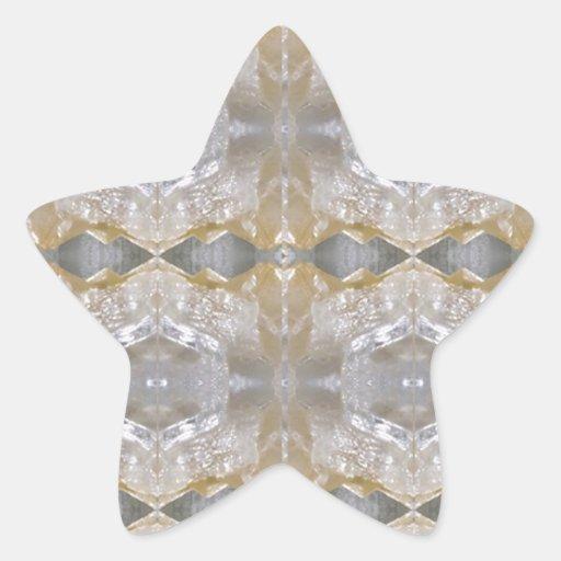 DIVERSIÓN curativa RT NVN468 del éxito de la joya Calcomanías Forma De Estrellaes