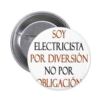 Diversión de Electricista Por de la soja ningún Po Pins