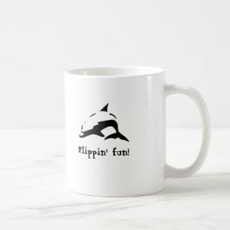 ¡Diversión de Flippin! Taza Clásica