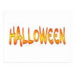 Diversión de Halloween Postal