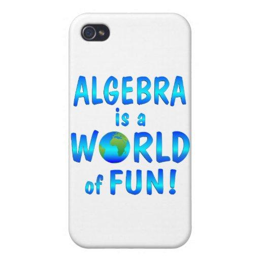 Diversión de la álgebra iPhone 4 funda