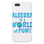Diversión de la álgebra iPhone 5 fundas