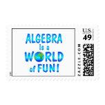 Diversión de la álgebra sellos