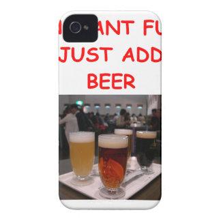 diversión de la cerveza iPhone 4 Case-Mate cárcasa