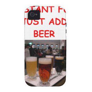 diversión de la cerveza iPhone 4/4S carcasas