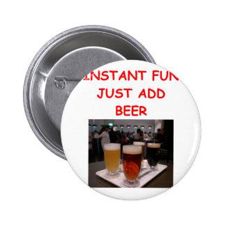 diversión de la cerveza pin