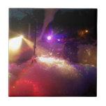 diversión de la espuma del laser azulejo