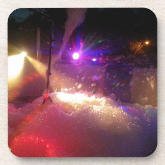 diversión de la espuma del laser posavasos de bebidas