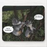 Diversión de la koala alfombrilla de ratón