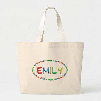 Diversión de la pasta de Emily Bolsa Tela Grande