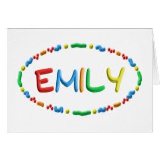 Diversión de la pasta de Emily Tarjeta De Felicitación