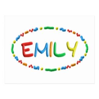 Diversión de la pasta de Emily Postal