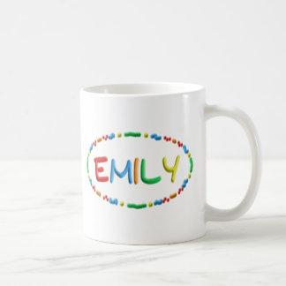 Diversión de la pasta de Emily Taza Básica Blanca
