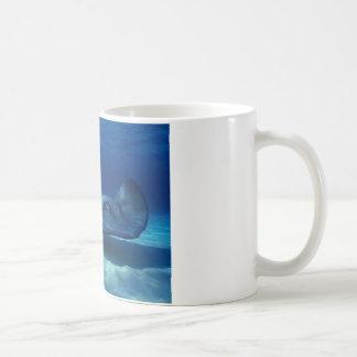 Diversión de la pastinaca taza de café